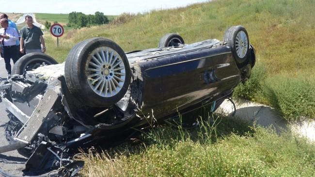 Babaeski'de Trafik Kazası: 3 Yaralı
