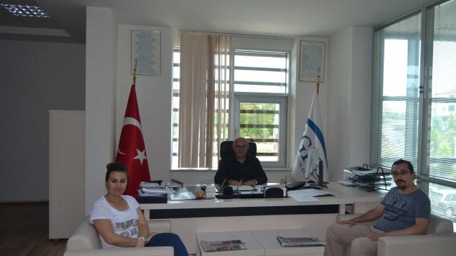 Zortul Medya Grup A.Ş.'den Müdür Armağan'a Ziyaret