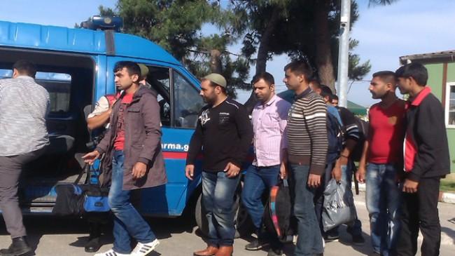 170 yabancı uyruklu şahıs yakalandı