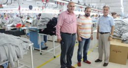 Babaeski Sosyal Güvenlik Kurumdan, Perge Tekstil'e Ziyareti