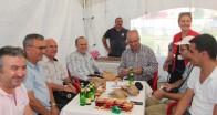 Kızılay çadırı ilk defa hal içine konuşlandı