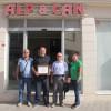 Kızılay'dan Alp Can Pastanesine Teşekkür Belgesi