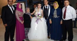 Okan Alkan ve Ayça Yuca çift muhteşem düğünle evlendiler