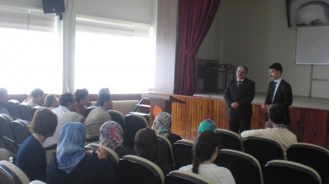 Projenin ilk psikolojik danışmanlık toplantısı yapıldı