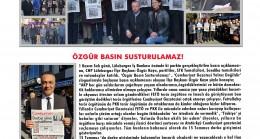 CHP Lüleburgaz İlçe Başkanlığı Bülteni Ekim Sayısı Çıktı