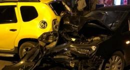 Babaeski'de Trafik Kazası; 2 Yaralı