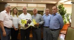 Babaeski Kent Konseyinden Başkan Hacı'ya ziyaret
