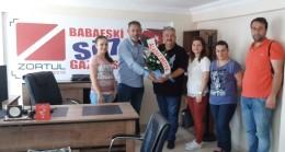 Aladağ Medya'dan  nezaket ziyareti