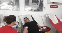 KIZILAY kan bağış tırı  Babaeski'de
