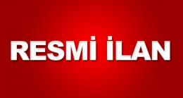 RESMİ İLAN