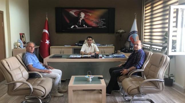 Başkan Göç ve Sağlam'dan ilk ziyaret Vize Kaymakamlığına