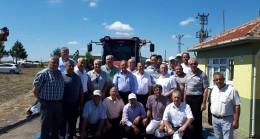 S.S. 911 nolu Ahmetbey  Yağlı Tohumlar  yeni  ürün alım merkezini açtı