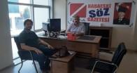 Kırklareli Kent Konseyi Başkanı  Ali Çakır'dan gazetemize ziyaret