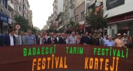 BABAESKİ TARIM FESTİVALİ 47 YAŞINDA