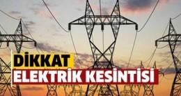 Babaeski'de  elektrik kesintisi