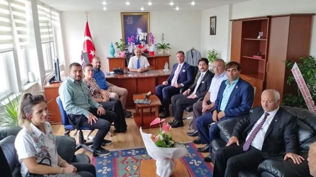 Kaymakam Şenol Levent Elmacıoğlu'na Ziyaretler Devam Ediyor