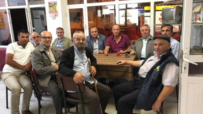 Başkan Altıntel'den Aronia tanıtım  teşvik toplantılarına devam ediyor