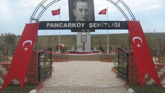 Pancarköy Şehitleri 38. yıl dönümünde  kabirleri başında anıldı