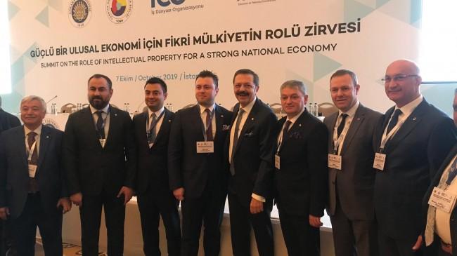 """KTSO Başkanı Soner Ilık, """"Güçlü Bir Ulusal Ekonomi İçin Fikri  Mülkiyetin Rolü Zirvesi""""nde"""