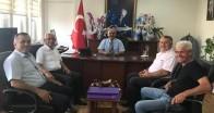 Babaeski Kaymakamı Elmacıoğlu'na ziyaretler devam ediyor