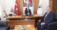Bülent Turanoğlu'n dan  Üsküp Belediye Başkanına ziyaret