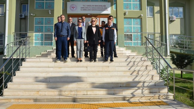 İl Sağlık Müdürlüğü'nde TAMP  değerlendirme toplantısı yapıldı