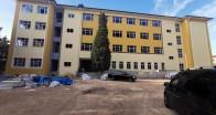 Babaeski'de yeni lise  inşaatında sona gelindi