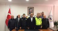 Emniyet Müdürü  Menekşeoğlu'ndan BTSO'ya ziyaret