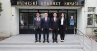 Vali Bilgin'den Babaeski'ye ziyaret