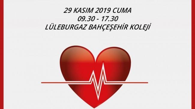 Lüleburgaz Bahçeşehir Koleji'nden kan bağışına destek