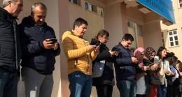 Kızılay'a en anlamlı bağış TOKİ  Ahmet Cevdet Paşa ilk-ortaokulundan geldi