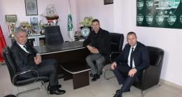 KTSO Başkanı Soner Ilık ve TFF Başkan Vekili Erdal Bahçıvan, GMG Kırklarelispor Kulüp Başkanı Volkan Can'ı ziyaret etti