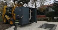 Ahmetbey doğalgaza kavuşuyor