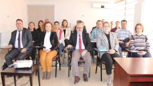 Dr. Çiğdem CERİT'in başkanlığında toplantı gerçekleştirildi