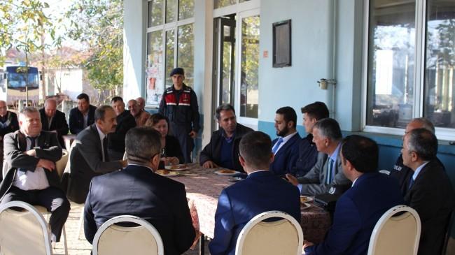 Kumköy'de halk toplantısı