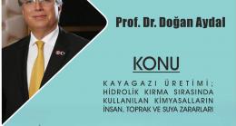 """KTSO'DAN  """"Hidrolik Kırma'da Kullanılan Kimyasalların İnsan Toprak ve Suya  Zararları"""" konulu konferans"""
