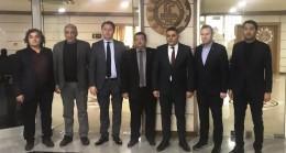 """KTSO Başkanları Ilık ve Özsan, Malatya TSO ile Elazığ TSO'ya  """"Geçmiş olsun"""" ziyareti gerçekleştirdi"""