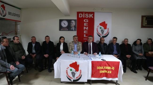 Kırklareli Belediyesi'nde toplu iş sözleşmesi imzalandı