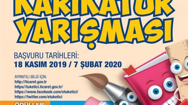 Liseler arası karikatür yarışması  düzenlenecek