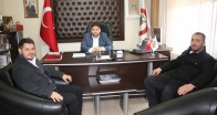 Pınarhisar AK Parti İlçe  Başkanı'ndan Başkan Gün'e ziyaret