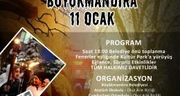 Soğuk kış geceleri Balkan  geleneği ile ısınıyor
