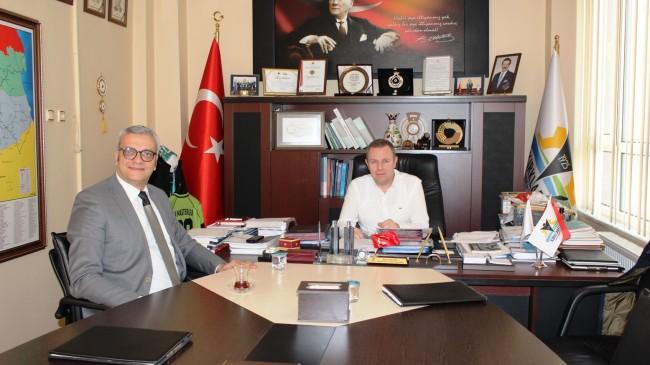 KTSO Başkanı Ilık Nida Turizm Pazarlama Yöneticisi Volkan Altun'u ağırladı