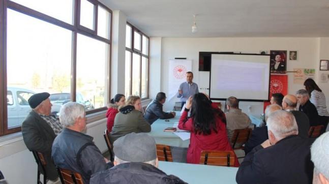 Katranca Köyü'nde arıcılık eğitimi düzenlendi