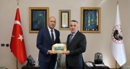 Murat Baştor'dan Vali  Bilgin'e ziyaret