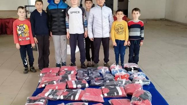 TGF'den Sinanlı Gençlergücü Spor Kulübüne destek