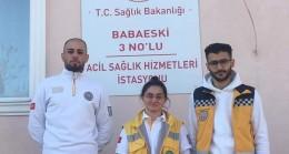 Babaeski'de yeni 112 ASHİ hizmete başladı