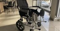 Kırklareli Kent Konseyi'ne  tekerlekli sandalye bağışı yapıldı
