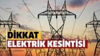 Babaeski'de planlı elektrik kesintisi yapılacak