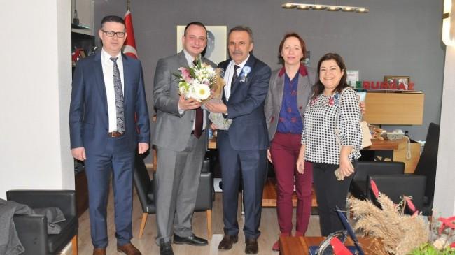 Lüleburgaz Belediyesi'ne Vergi Dairesi'nden ziyaret