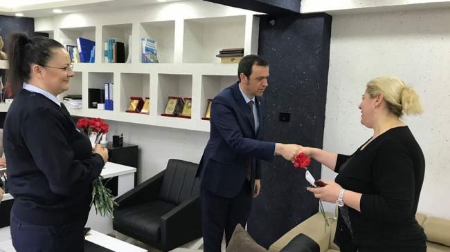 Ercan Özalp'ten 8 Mart Dünya Emekçi Kadınlar Günü ziyareti